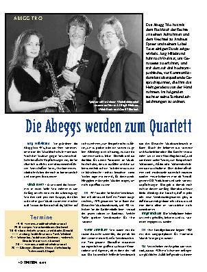 Die Abeggs werden zum Quartett