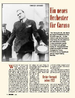 Ein neues Orchester für Caruso
