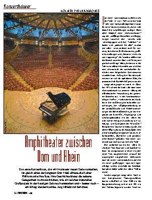 Amphitheater zwischen Dom und Rhein