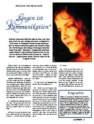 Singen ist Kommunikation