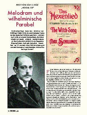 Melodram und wilhelminische Parabel