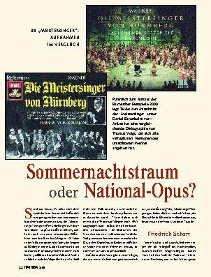 Sommernachtstraum oder National-Opus?