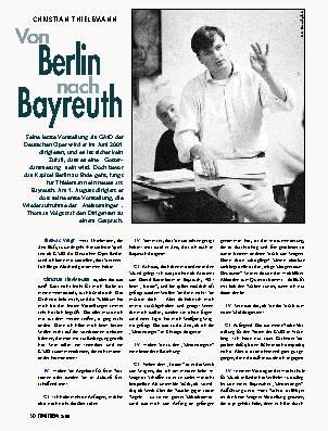 Von Berlin nach Bayreuth