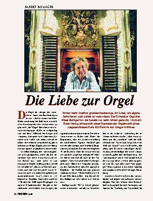 Die Liebe zur Orgel