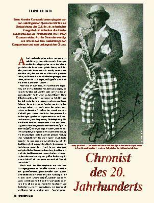 Chronist des 20. Jahrhunderts
