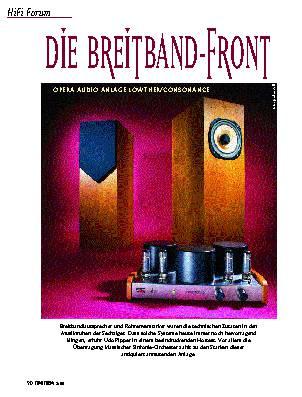 Die Breitband-Front