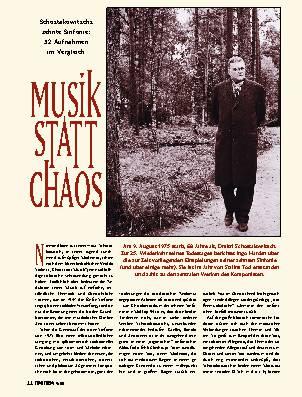 Musik statt Chaos