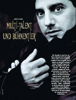 Multi-Talent und Bühnentier