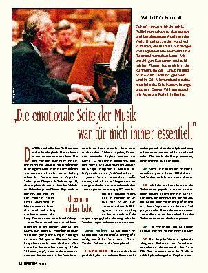 """""""Die emotionale Seite der Musik war für mich immer essentiell"""""""