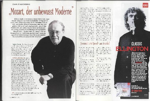 """Mozart, der unbewusst Moderne"""