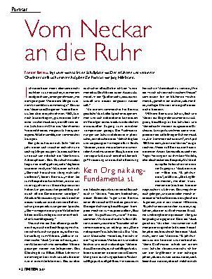 Vom Neckar an die Ruhr