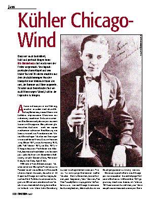 Kühler Chicago-Wind