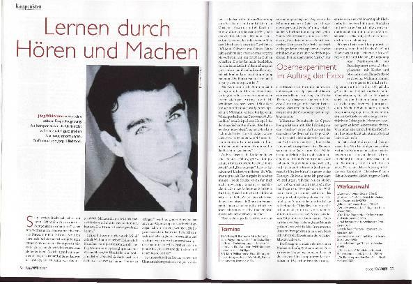 Jörg Widmann - Lernen-durch-Hören-und-Machen