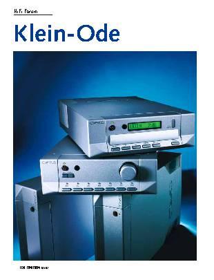 Klein-Ode