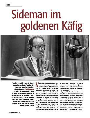 Sideman im goldenen Käfig
