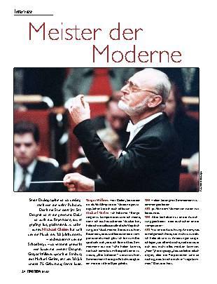 Meister der Moderne