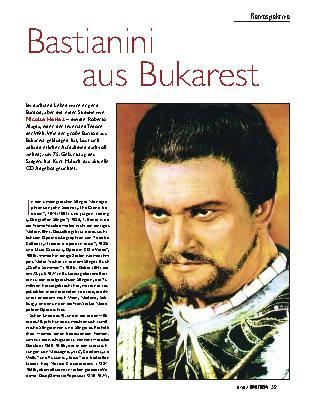 Bastianini aus Bukarest