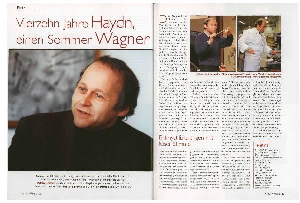 Vierzehn Jahre Haydn, einen Sommer Wagner