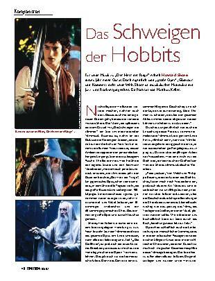 Das Schweigen der Hobbits