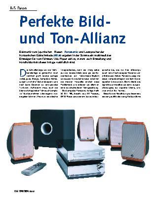 Perfekte Bild- und Ton-Allianz