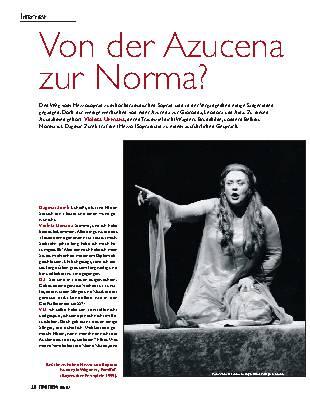 Von der Azucena zur Norma?