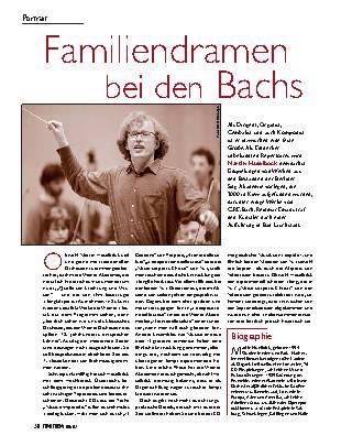 Familiendramen bei den Bachs