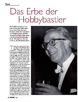Das Erbe der Hobbybastler