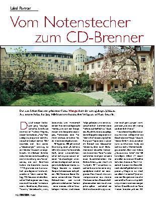 Vom Notenstecher zum CD-Brenner