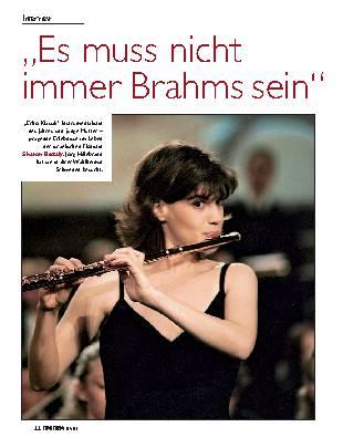 """""""Es muss nicht immer Brahms sein"""""""