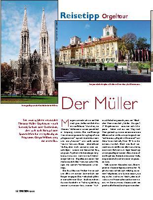 Der Müller und die Orgeln
