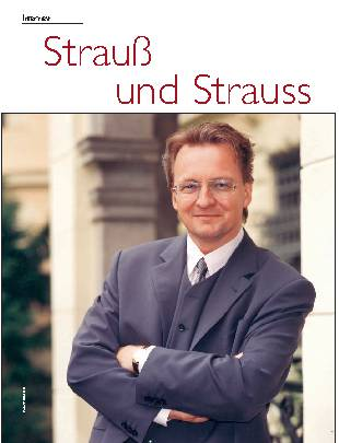 Strauß und Strauss