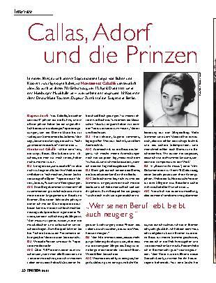 Callas, Adorf und die Prinzen