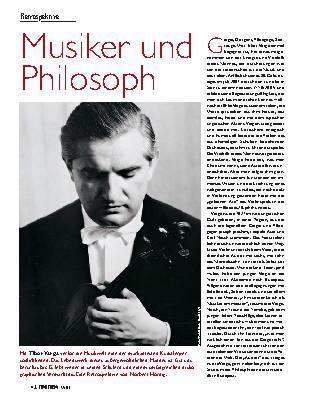 Musiker und Philosoph