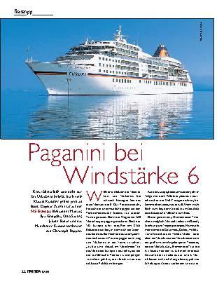 Paganini bei Windstärke 6