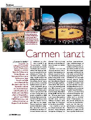 Carmen tanzt Flamenco