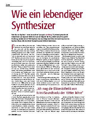 Wie ein lebendiger Synthesizer