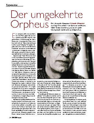 Der umgekehrte Orpheus