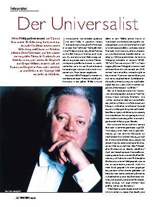 Der Universalist