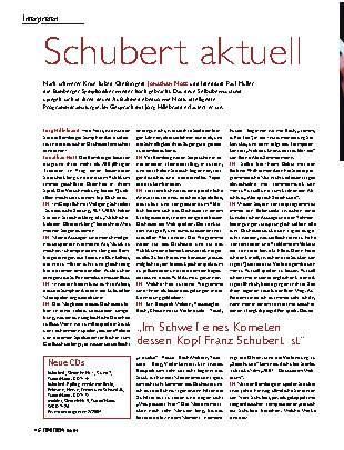 Schubert aktuell
