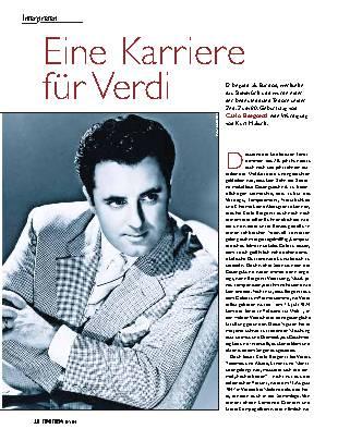 Eine Karriere für Verdi