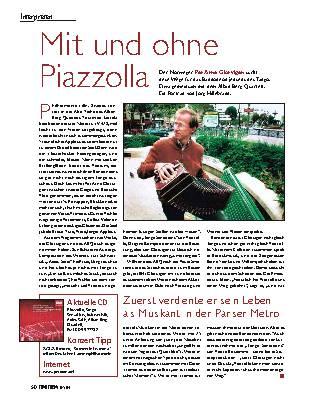 Mit und ohne Piazzolla