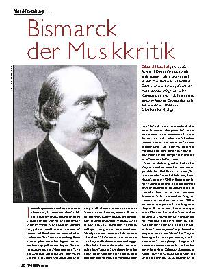 Bismarck der Musikkritik