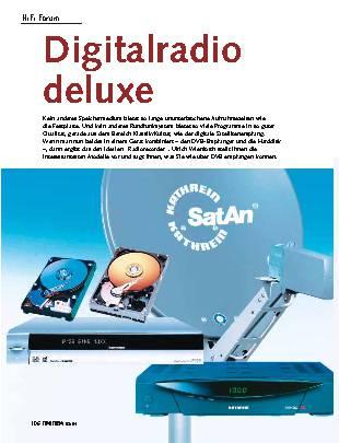 Digitalradio deluxe