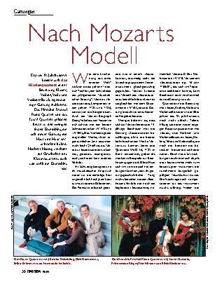 Nach Mozarts Modell