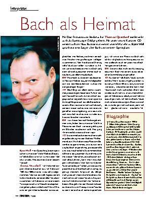 Bach als Heimat