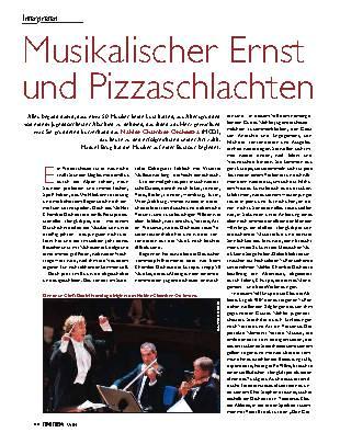 Musikalischer Ernst und Pizzaschlachten