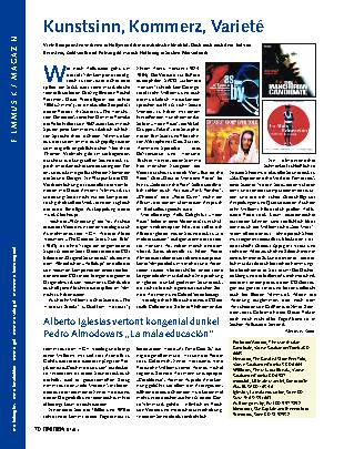 Filmmusik/Kammermusik
