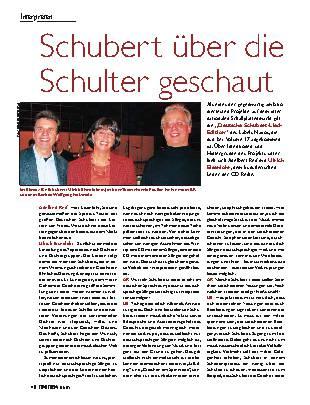 Schubert über die Schulter geschaut