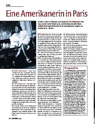 Eine Amerikanerin in Paris