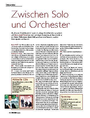 Zwischen Solo und Orchester